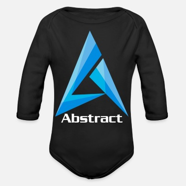 Abstract Abstract - Organic Long-Sleeved Baby Bodysuit