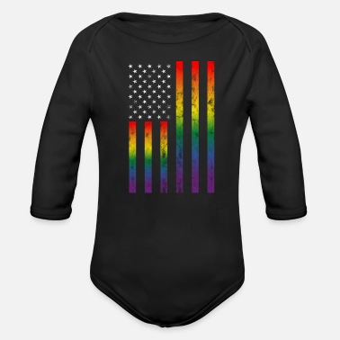 Toleranz LGBT Gay Lesbian Pride Rights Support Tolerance - Organic Long-Sleeved Baby Bodysuit