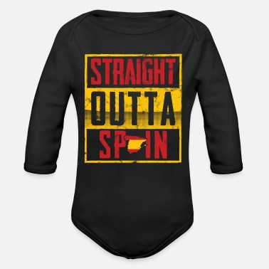 Spanish Spanish - Organic Long-Sleeved Baby Bodysuit