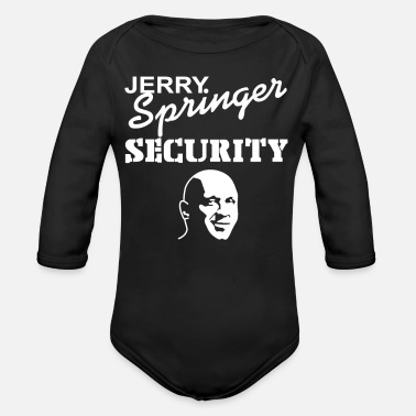 Springer Jerry Springer - Organic Long-Sleeved Baby Bodysuit