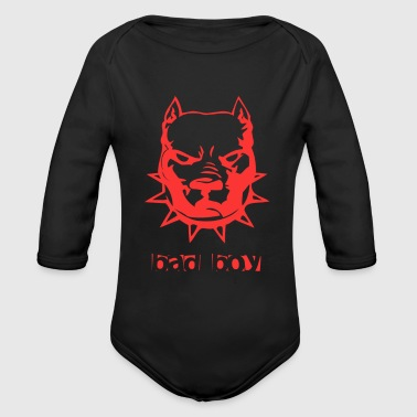 Bad Boy Bad Boy - Organic Long Sleeve Baby Bodysuit