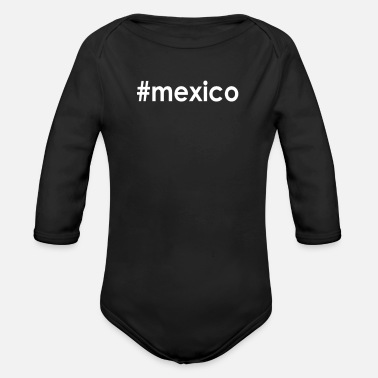 Life #mexico - Organic Long-Sleeved Baby Bodysuit