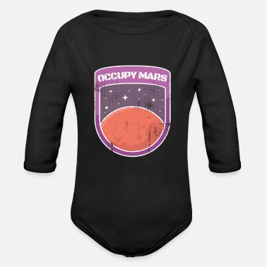 Occupy Mars - Organic Long-Sleeved Baby Bodysuit