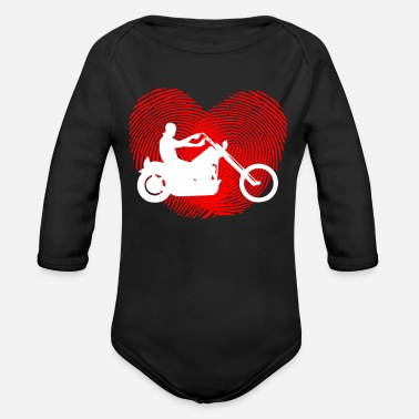 Chopper CHOPPER - Organic Long-Sleeved Baby Bodysuit