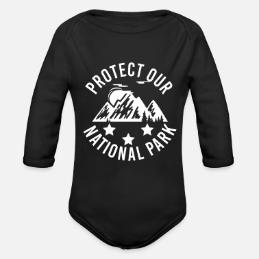 Animal Welfare Nature Conservation Animal Welfare Animal Welfare - Organic Long-Sleeved Baby Bodysuit