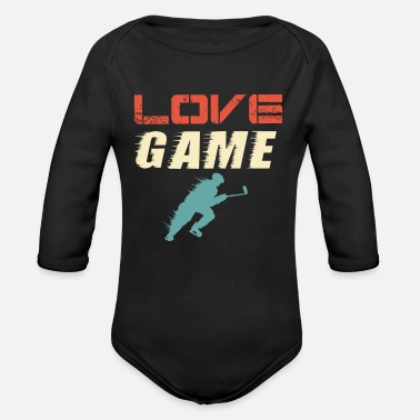 Hockey Team Hockey Field Hockey Indoor Hockey Hockey Team - Organic Long-Sleeved Baby Bodysuit