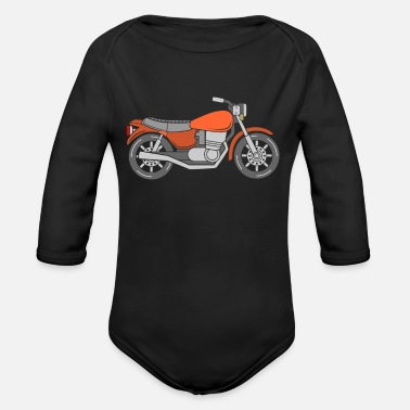 Motocycle Motocycle - Organic Long-Sleeved Baby Bodysuit