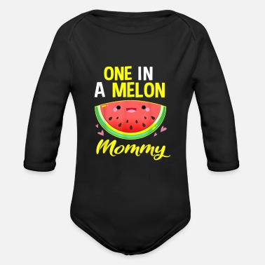 Mother's Day Mom Mama Mother Love - Organic Long-Sleeved Baby Bodysuit