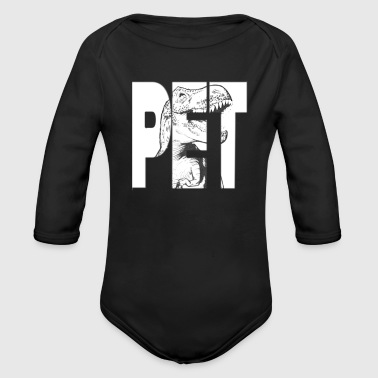 pet - Organic Long Sleeve Baby Bodysuit