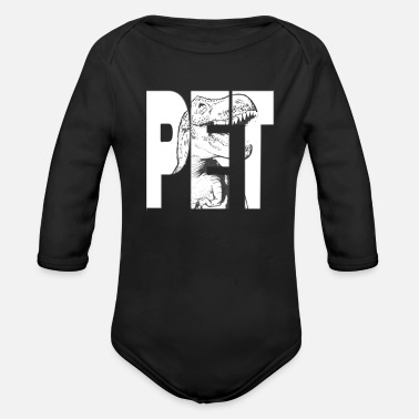Pet pet - Organic Long-Sleeved Baby Bodysuit