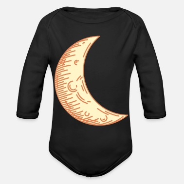 Moon Moon - Organic Long Sleeve Baby Bodysuit
