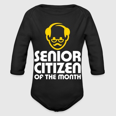 Senior Of The Month - Organic Long Sleeve Baby Bodysuit