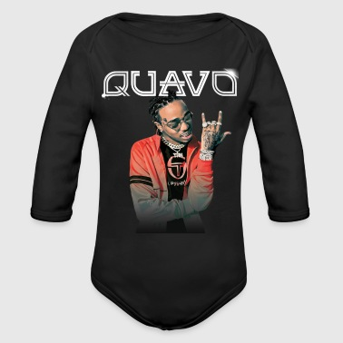 rapper - Organic Long Sleeve Baby Bodysuit