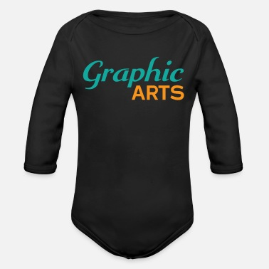 Graphic Art Graphic Arts - Organic Long Sleeve Baby Bodysuit