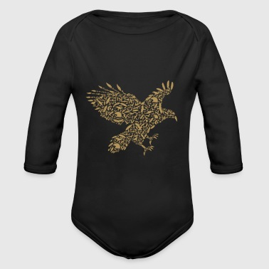 Eagle - Organic Long Sleeve Baby Bodysuit