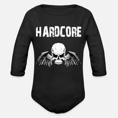 Hardcore Hardcore - Organic Long-Sleeved Baby Bodysuit