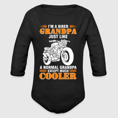 Cool Shirt For Motocycle Lover - Organic Long Sleeve Baby Bodysuit