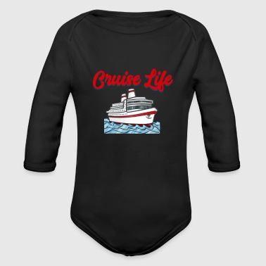 Family Cruise Vacation - Family Cruise 2018 - Cruise Life - Organic Long Sleeve Baby Bodysuit