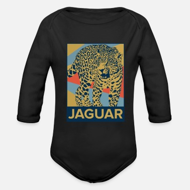 Jaguar Jaguar - Organic Long-Sleeved Baby Bodysuit