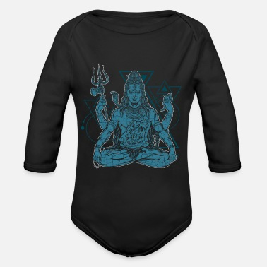 Shiva Shiva - Organic Long-Sleeved Baby Bodysuit