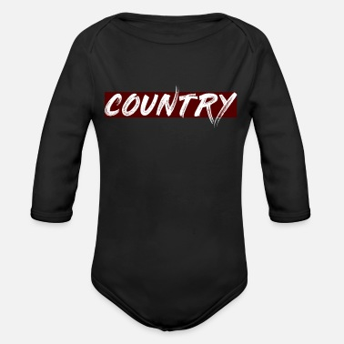 Country COUNTRY - Organic Long-Sleeved Baby Bodysuit