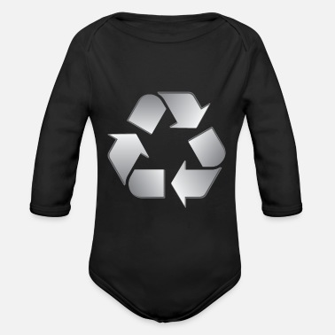 Recycling Recycling - Organic Long-Sleeved Baby Bodysuit