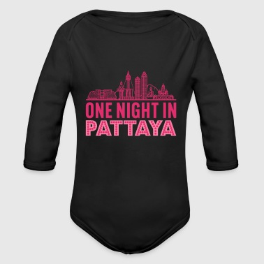 Pattaya - Organic Long Sleeve Baby Bodysuit