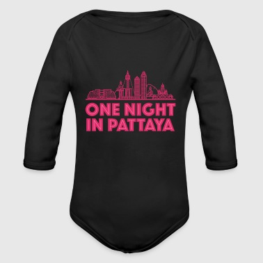 One Night in Pattaya - Organic Long Sleeve Baby Bodysuit