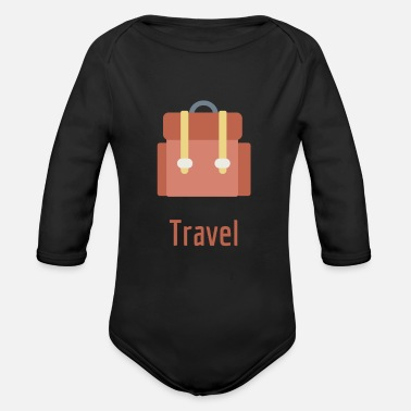 travel - Organic Long-Sleeved Baby Bodysuit