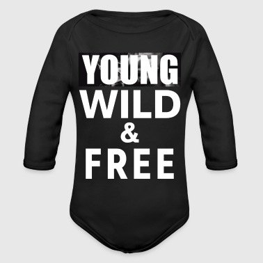 Young Wild Free 3 - Organic Long Sleeve Baby Bodysuit