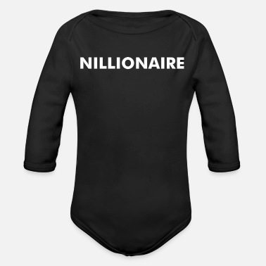 Nillionaire - Organic Long-Sleeved Baby Bodysuit