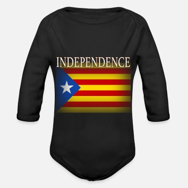 Catalan Catalonia Catalan Independence - Organic Long-Sleeved Baby Bodysuit