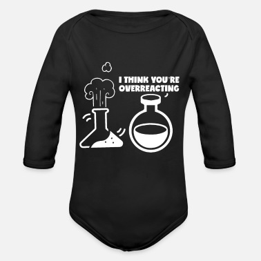 Nerd Nerd Geek - Organic Long-Sleeved Baby Bodysuit