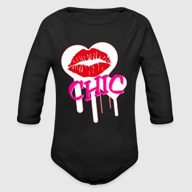 Chic - Organic Long Sleeve Baby Bodysuit