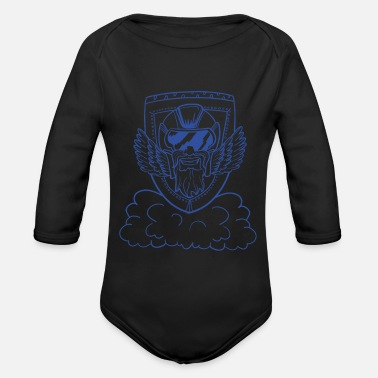 Kids Bike bike Kids T-Shirt - Organic Long Sleeve Baby Bodysuit