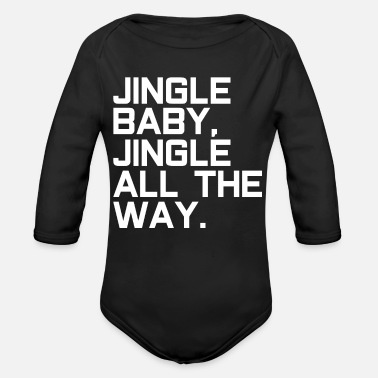 Santa Claus Jingle Santa Claus Santa Claus - Organic Long Sleeve Baby Bodysuit