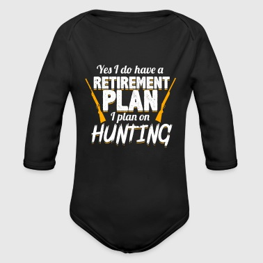 Retirement Retirement - Organic Long Sleeve Baby Bodysuit