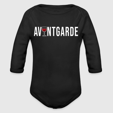 Avantgarde Avantgarde wine simple cool gift idea - Organic Long Sleeve Baby Bodysuit