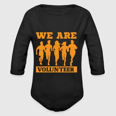 Rustic Volunteer Rustic - Organic Long Sleeve Baby Bodysuit