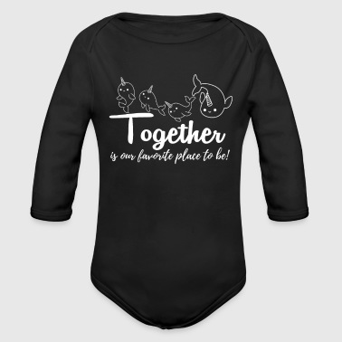 Best Friends - Organic Long Sleeve Baby Bodysuit