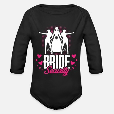 Bride Bride - Organic Long-Sleeved Baby Bodysuit