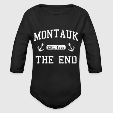 Established Montauk Established 1852 - Organic Long Sleeve Baby Bodysuit