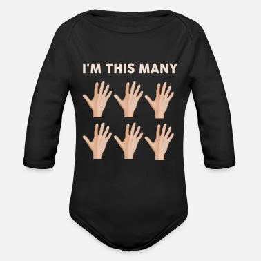 Im Im this many 30 year old Kopie - Organic Long-Sleeved Baby Bodysuit