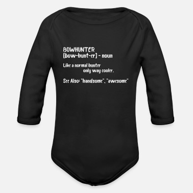 Bowhunter Bowhunter Definition - Organic Long-Sleeved Baby Bodysuit