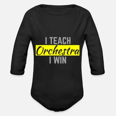 Conductor Conductor - Organic Long-Sleeved Baby Bodysuit