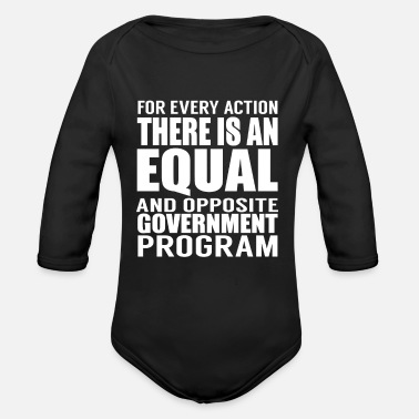 Government Government Programs - Organic Long-Sleeved Baby Bodysuit