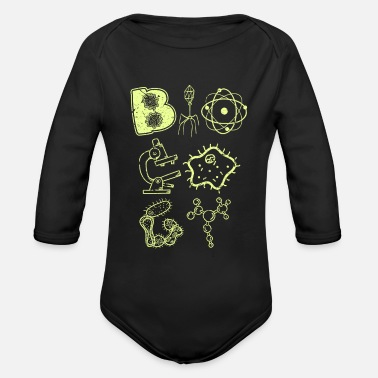 Biology Biology - Organic Long-Sleeved Baby Bodysuit