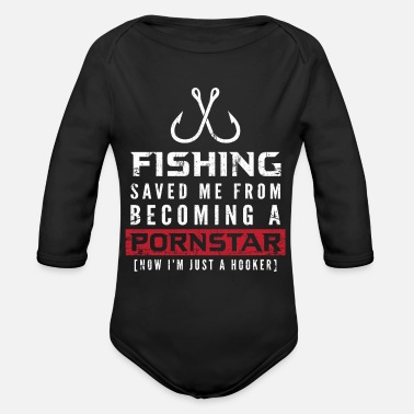 Recreational Fishing Recreation - Organic Long-Sleeved Baby Bodysuit