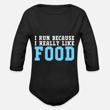 Nutrition Sports Nutrition - Organic Long Sleeve Baby Bodysuit