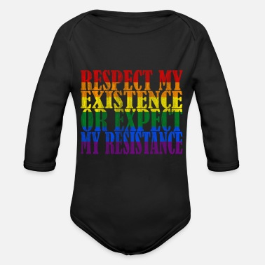 Movement LGBT Movement - Organic Long Sleeve Baby Bodysuit